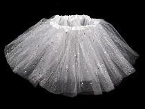 Karnevalová sukienka s glitrami