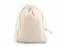 Ľanové vrecúško 7,5x10 cm