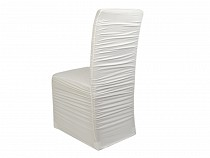 Elastický návlek na židle  řasený
