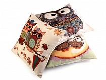 Cushion Cover Owls 44x44 cm