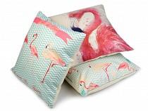 Cushion Cover Flamingo 44x44 cm