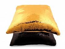 Față de pernă cu paiete reversibile, 40x40 cm