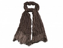 Mens Creased Scarf 94x194 cm