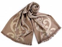 Schal mit Lurex 72x182 cm