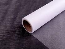 Organza Fabric width 36 cm matt shine