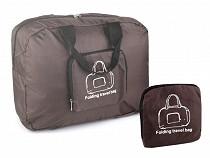 Skladacia cestovná taška ľahká 31x39 cm