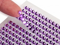 Self Adhesive Rhinestone Crystal Stickers Ø4 mm