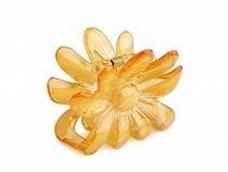 Skřipec do vlasů 5x6,5 cm květ