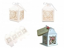 Paper Favor Box with Ribbon