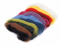 Wool Fleece Roving 50 g combed