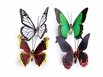 Decorative Butterfly 3D with Clip