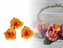 Művirág rózsa Ø25 mm