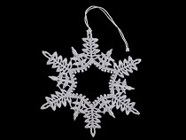 Christmas Lace Applique Star, Snowflake