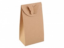 Paper Bag Natural with Butterfly