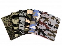 Camouflage Iron-on Patches 17x43 cm