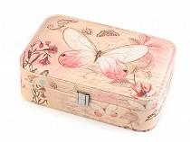 Schmuck Schachtel Schmetterling 7x14x22 cm