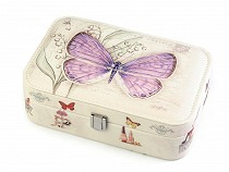 Jewellery Box Butterfly 7x14x22 cm