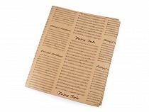 Balicí / dekorační papír noty 49x70 cm