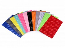Craft Felt Sheets 20x30 cm Polka Dot