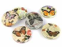 Pocket Mirror Butterfly