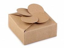 Pudełeczko papierowe naturalne małe