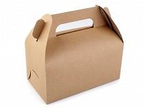 Papírová krabička natural s uchem