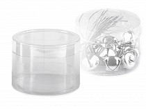 Cutie din plastic transparent cu capac