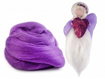 Wool Fleece Roving Combed 20 g extra soft