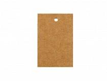 Papírcimke / névkártya 40x60 mm