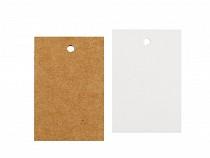 Cenówka papierowa / metka 40x60mm