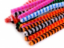 Fuzzy Chenille Wire Sticks Ø6 mm length 30 cm