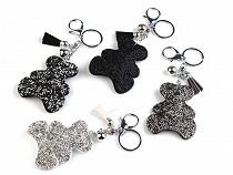 Anhänger für Handtasche / Schlüssel Bär