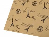 Balicí / dekorační papír 50x75 cm