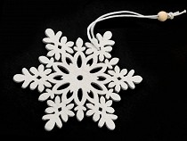 Wooden Decor Snowflake