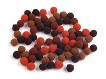 Pompony mix kolorów Ø10mm