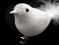 Dekorációs madár csipesszel