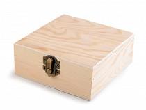 DIY / Unfinished Wood Craft Box