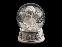 Glob de zăpadă cu înger