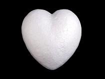 Szív Ø8 cm polisztirol