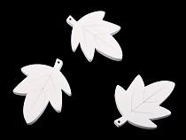 Drevené listy na zavesenie / na nalepenie / na domaľovanie