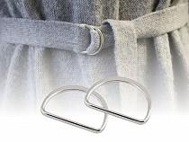 Félkarika textilpántra szélessége 25 mm lapos