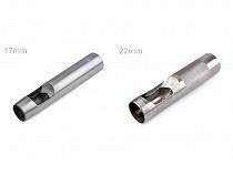 Výsečník / děrovač na látky Ø17 mm, Ø19 mm, Ø22 mm