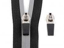Zip Slider to Nylon Reflective Zippers 5 mm