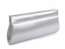 Kabelka - lístoček metalická