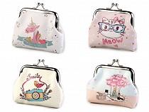 Peňaženka jednorožec, lapač snov, mačka, foťák 8x10 cm