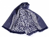 Scarf / Shawl with Ornaments and Lurex 70x180 cm