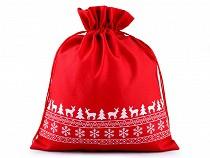 Darčekové vianočné / mikulášske vrecko 30x35 cm