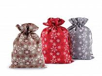 Săculeț cadouri Crăciun, 20x30 cm