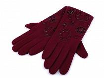 Damen Handschuhe Mandala