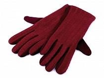 Rękawiczki damskie dzianina